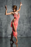 Latino style dancer Stock Images