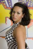Latino woman stock image