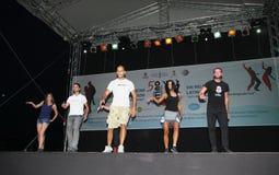 Latinomarathon Lizenzfreie Stockfotos