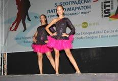 Latinomaraton Royaltyfri Fotografi