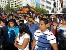 Latinos al festival immagine stock libera da diritti