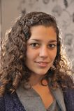 Latinsk flicka Fotografering för Bildbyråer