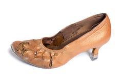 Latinsk sko för balsaldans Arkivfoton