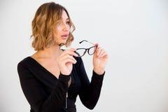 2 latinska chic exponeringsglas Fotografering för Bildbyråer