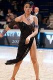 Latinska dansare Fotografering för Bildbyråer