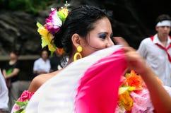 Latinska folkdanser Royaltyfri Bild