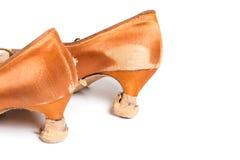 Latinska skor för balsaldans Arkivfoton