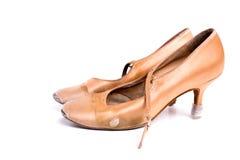 Latinska skor för balsaldans Royaltyfria Bilder