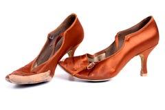 Latinska skor för balsaldans Royaltyfria Foton