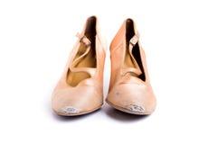 Latinska skor för balsaldans Fotografering för Bildbyråer