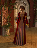 Latisha -- Beautiful Fantasy Female Medieval Princess Stock Photography
