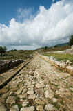 Latium,意大利Norga古城 库存图片