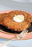 latkes πατάτα Στοκ Εικόνα