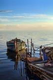 Lato łódź Zdjęcie Stock