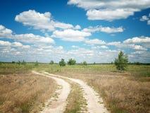 Lato łąki krajobraz fotografia royalty free