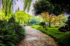 Lato ścieżka Shucheng Chiny zdjęcie royalty free