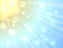 lato światło słoneczne Obraz Stock