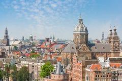 Lato Amsterdam Fotografia Stock