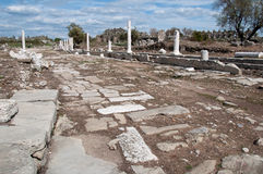 Lato antico, Turchia Fotografie Stock