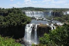 Lato argentino delle cadute di Iguassu Fotografia Stock Libera da Diritti