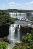 Lato argentino delle cadute di Iguassu Fotografie Stock