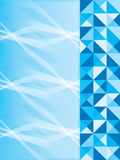 Lato blu della pagina Fotografie Stock Libere da Diritti
