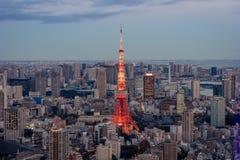 2011 lato brać Tokyo wierza Zdjęcie Royalty Free