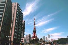 2011 lato bra? Tokyo wierza fotografia royalty free