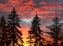 Lato burzy chmury Zdjęcie Stock