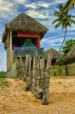 Lato chałupy plaża Obrazy Stock