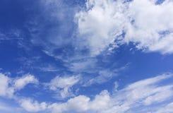 Lato chmury Zdjęcia Stock
