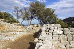 Lato, città antica su Crete Immagini Stock Libere da Diritti