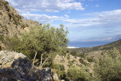 Lato, ciudad antigua en Crete Imagen de archivo libre de regalías