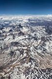 Lato Cordilheira dos Andes, Chile - Obrazy Stock