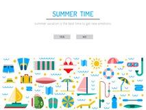 Lato czas 01 Zdjęcia Stock