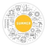 Lato czas 01 Zdjęcie Stock