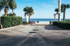Lato czas przy mirt plażą Obrazy Stock