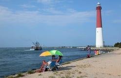 Jresey Seashore (1) Fotografia Stock