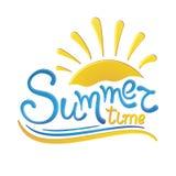 Lato czasu wakacje ilustracji