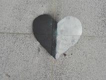 Lato del cuore Fotografie Stock