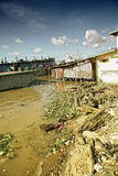 Lato del fiume Fotografie Stock Libere da Diritti