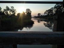 Lato del fiume fotografia stock libera da diritti