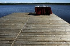 Lato del lago Immagini Stock Libere da Diritti