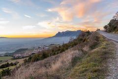 Lato del paese in Spagna Fotografia Stock
