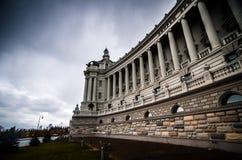 Lato del palazzo moderno Immagine Stock Libera da Diritti