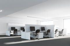 Lato dell'interno dell'ufficio del cubicolo Fotografie Stock Libere da Diritti