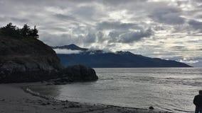 Lato dell'oceano Fotografie Stock Libere da Diritti