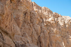 Lato dell'ombra di un'alta montagna Fotografie Stock Libere da Diritti