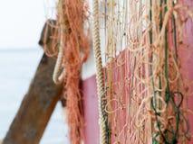 Lato della barca Fotografie Stock