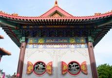 Lato della chiesa cinese immagini stock
